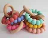 Bijtring uni (diverse kleuren op voorraad)_