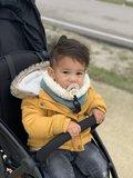 Colsjaal baby oudgroen_