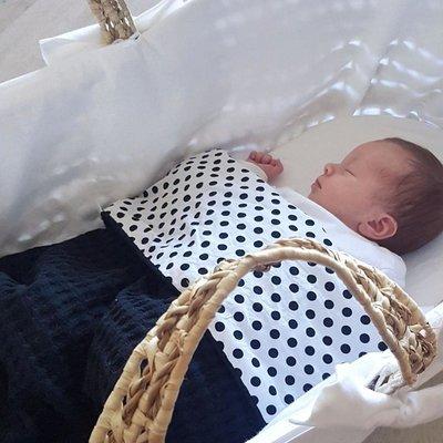 Baby deken op maat