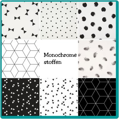 Monochrome stoffen