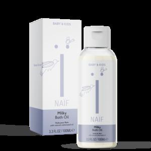 Milky bath oil Naif