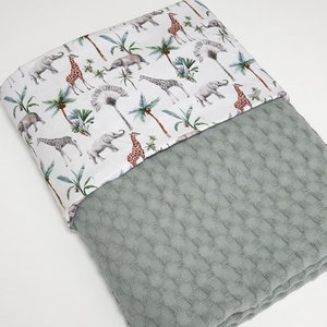 Handgemaakte jungle deken