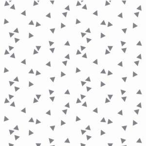 Triangle mix wit met grijze driehoekjes