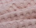 Wafelstof grof roze